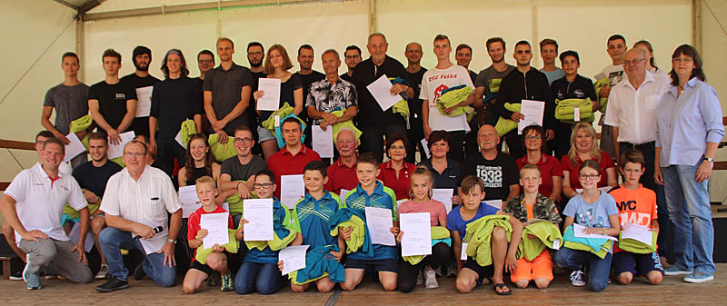 Sportlerehrung in Peterberg